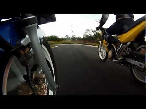 play some fun with suzuki satria F150