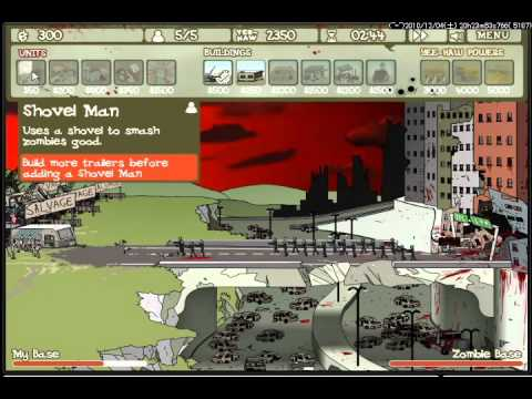 Flash game zombie trailer park stage 4 youtube