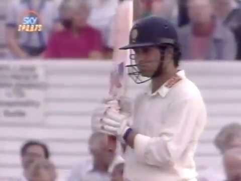 Sachin Tendulkar Rare Hundred 107 for Yorkshire County 1992