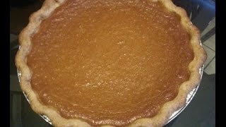 How To Make A Sweet Potato Pie From Scratch.