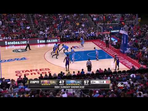 2014-04-06 Lakers vs Clippers Full Highlights