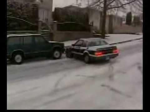 Cars Crashing On Ice Youtube