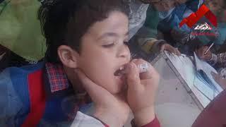 انطلاق الحملة القومية للتطعيم ضد شلل الأطفال
