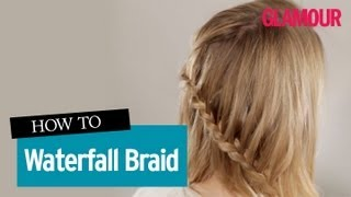 [Hair Tutorial Waterfall Braid- How To Do A Waterfall Braid I...]