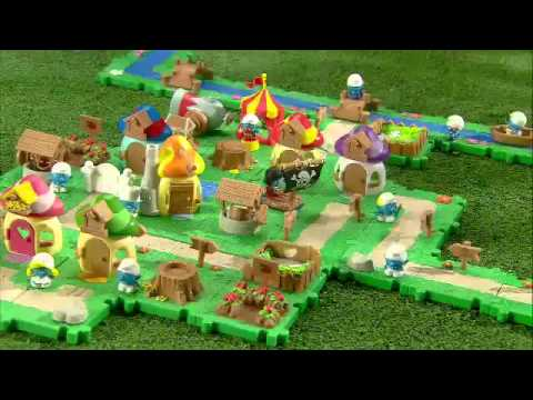 Jakks Pacific - The Smurfs Micro Village Playsets
