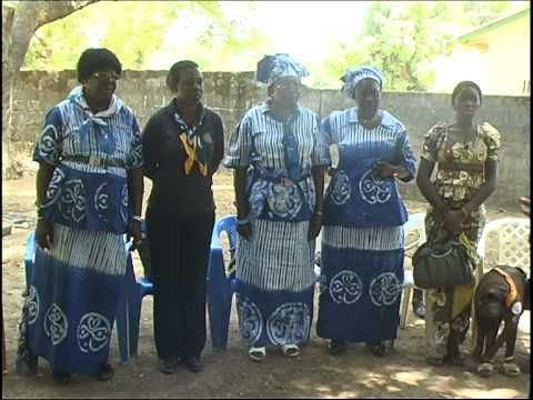 Gambia Girl Guides Association 2014 Tour Part 4