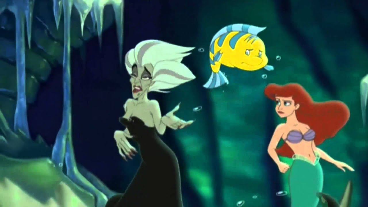 The Little Mermaid 2 Morgana Takes The Lead Arabic Youtube