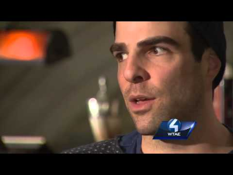 Hollywood star Zachary Quinto returns to Pittsburgh (part 1)