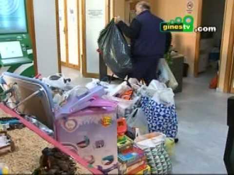 La Hermandad del Rocío de Gines recoge juguetes para los niños desfavorecidos