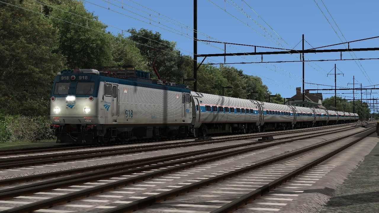 Train Simulator 2014 HD: Amtrak EMD AEM-7 On the Northeast Corridor ...