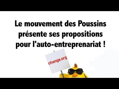 5 Propositions des Poussins pour l'Auto-Entrepreneuriat