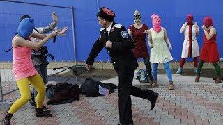 Pussy Riot atacate de poliția rusă #Soci