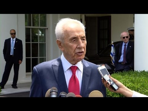 Shimon Peres at W.House says Iraq may not stay united