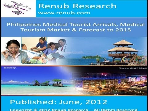 Philippines Medical Tourist Arrivals, Medical Tourism Market & Forecast to 2015(www.renub.com)