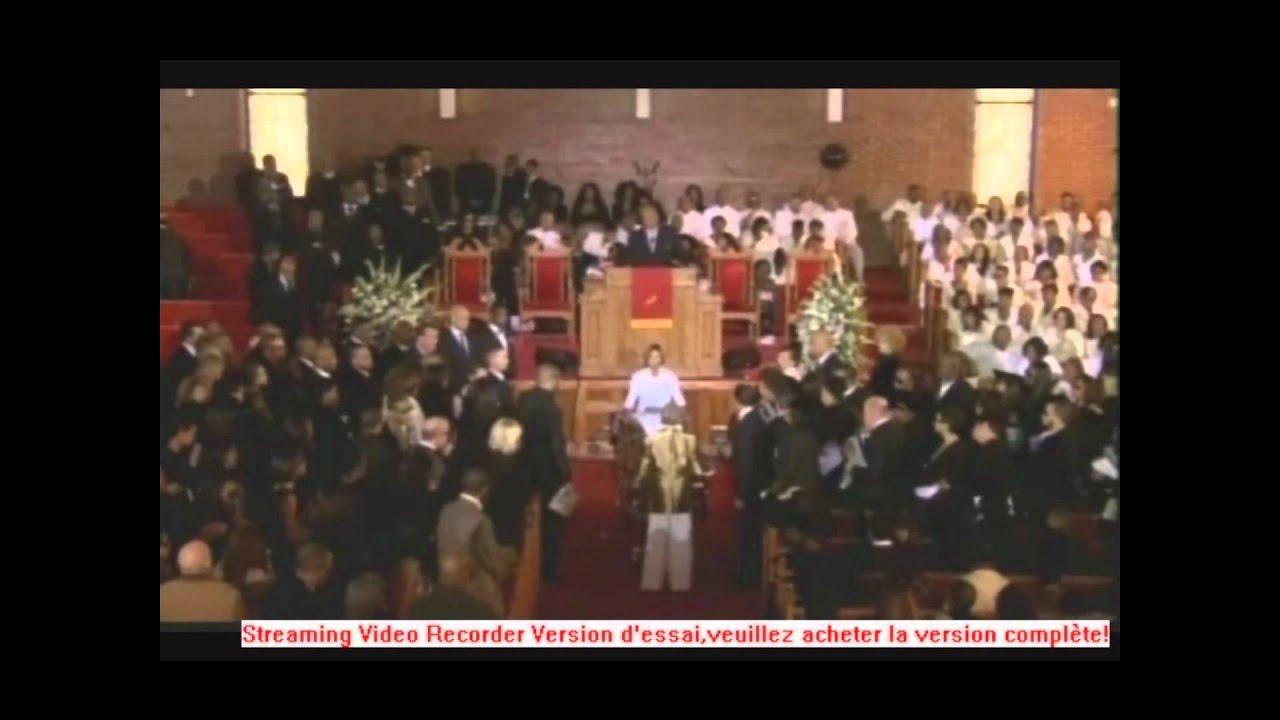 Whitney Houston Funeral Casket