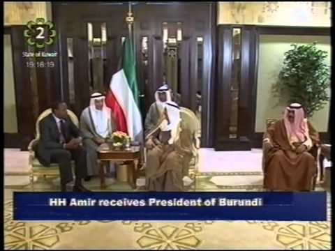 His Highness the Amir receives Presidents of African and Arab countries