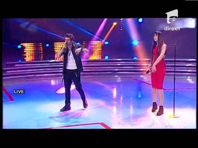 "Double X - Eminem - ""Sing for a moment"" - X Factor Romania, sezonul trei"
