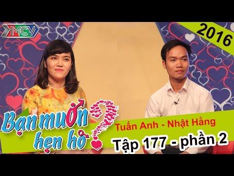 Cô giáo xinh đẹp dùng giọng hát chinh phục chàng trai | Tuấn Anh - Nhật Hằng | BMHH 177