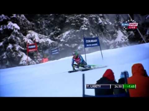 Ted Ligety - Alta Badia GS 2012 - Perfection