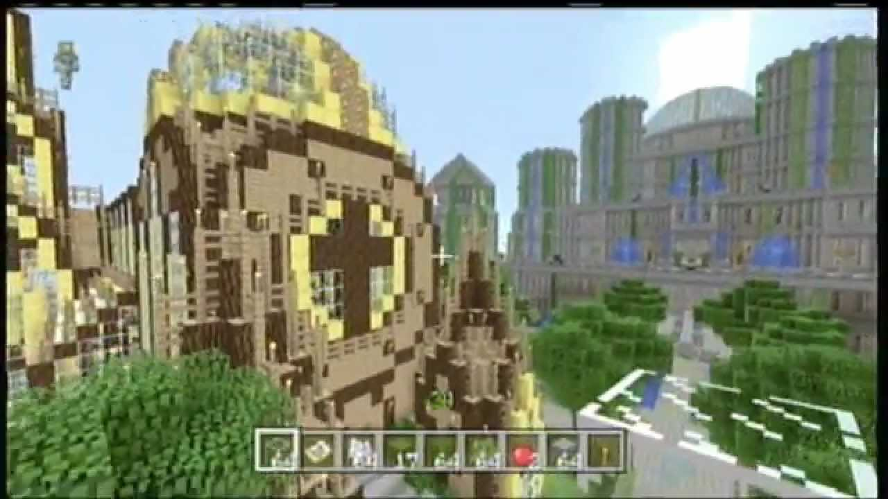 minecraft xbox 360 how to build a castle