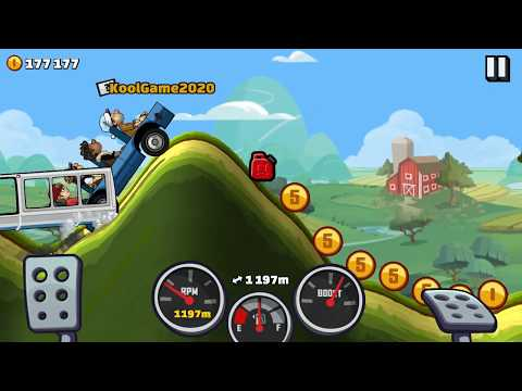 Driver-KoolGame ❤  Funny car flip stage ❤ Hill Climb Racing 2 ► New Area