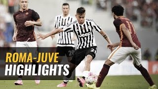 30/08/2015 - Serie A TIM - Roma-Juventus 2-1