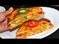 Besan Toast Cheese Sandwich Video Recipe | Bhavnas Kitchen