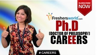 CAREERS IN Ph.D – Doctorate of Philosophy MA,Researcher,Teacher,Job Opportunities,Salary Package