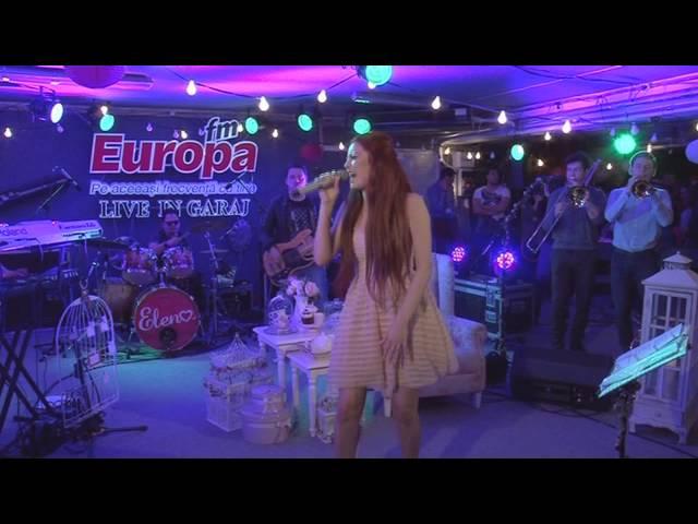 Elena Gheorghe - Let's Get Loud | LIVE in Garajul Europa FM