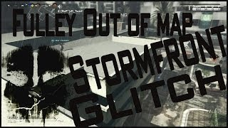 "Full Out Of Map Glitch On ""Stormfront"" On Call Of Duty"