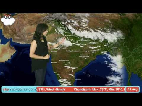 31 August Monsoon Update: Skymet Weather