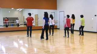 Silver Lining Line Dance (Dance & Teach)