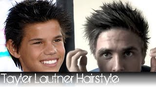 Taylor Lautner Hairstyle From Twilight How To Style Your