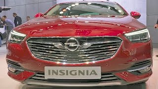 Opel Insignia (2017) Features, Interior, Exterior [YOUCAR]. YouCar Car Reviews.