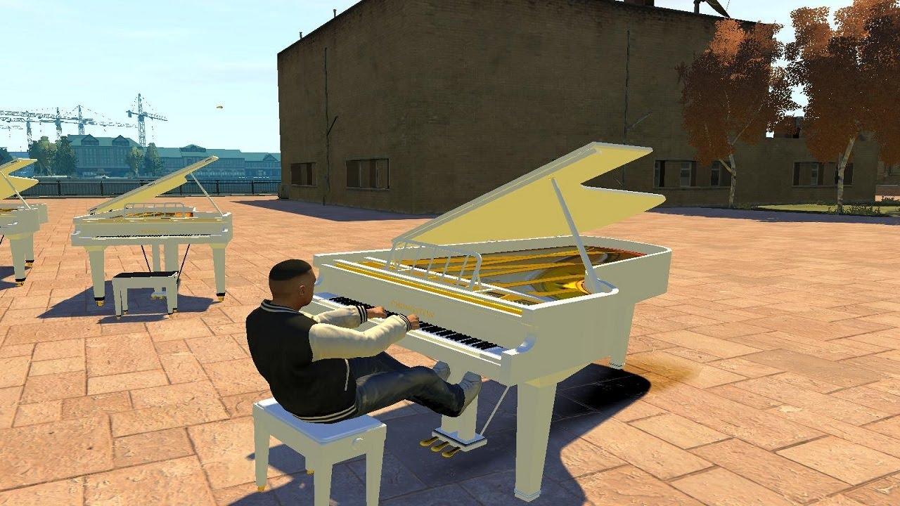 Grand Theft Auto  Driving Piano Car