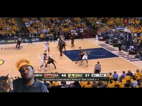 Miami Heat vs Indiana  pacers Game 5 Nba playoffs Paul george shows up big  Heat lose   reaction
