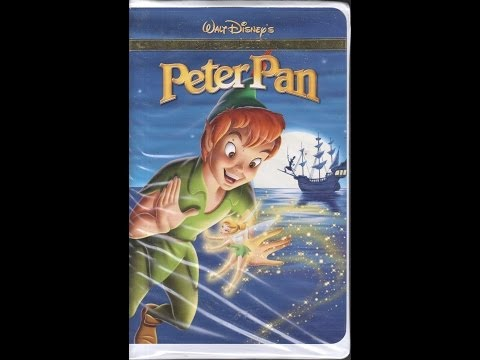 Opening To Peter Pan:Special Edition 2002 VHS