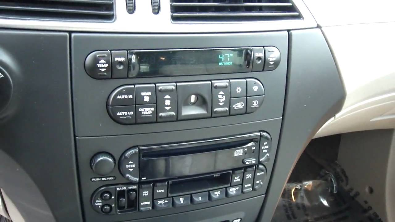 2005 chrysler pacifica youtube - Interior pictures of chrysler pacifica ...