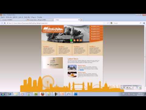 Thiết kế website sử dụng HTML5 & CSS3 - Bài 1