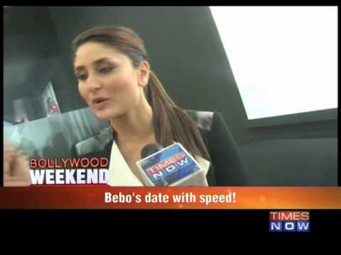 Kareena Kapoor's date with speed!