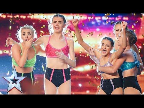Alesha makes Just Us' dreams come true   Auditions Week 2   Britain's Got Talent 2017