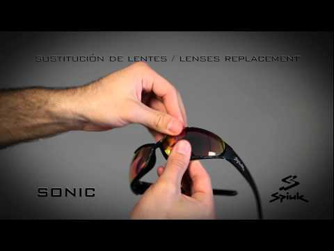 Sonic II lenses change by Spiuk