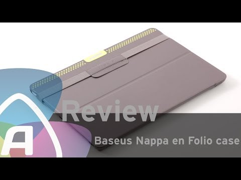 Baseus Nappa en Folio case voor de Apple iPad Air review (Dutch)