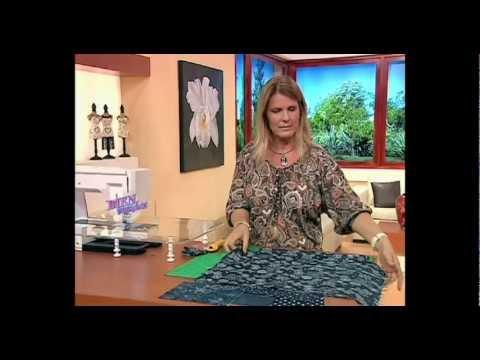 Carolina Rizzi - Bienvenidas TV - Bolso en Tela de Jean