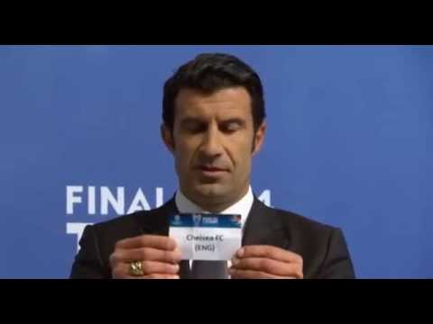 Uefa Champions League - FULL Semi Final Draw 2014 | Road to Lisbon
