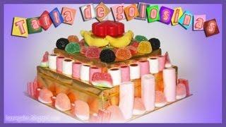 Fabulosa Tarta De Golosinas DIY Candy Cake