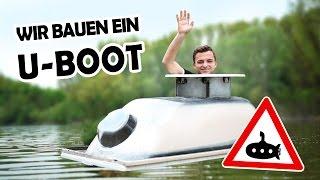 U-BOOT aus unserer BADEWANNE! #1   Amphibienbadewanne DIY