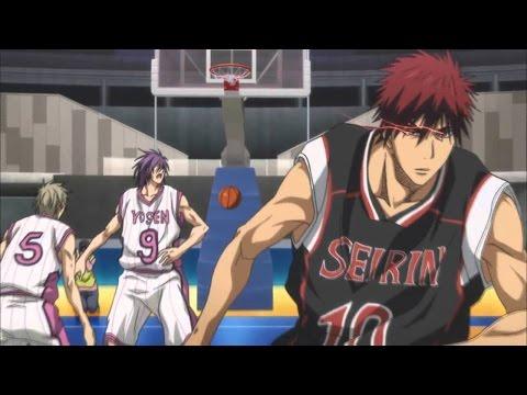 [AMV] Kuroko No Basket,Seirin Vs Yosen/Murasakibara Vs Kagami in Zone