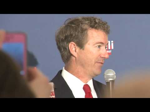 Rand Paul hits the Ken Cuccinelli campaign trail