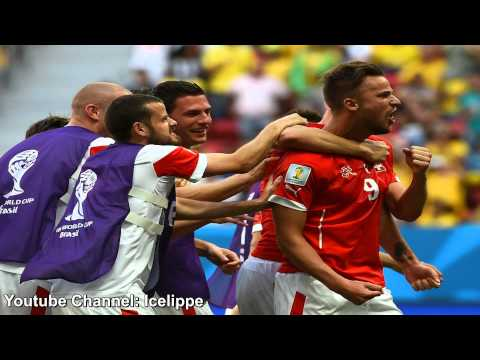 Switzerland - Ecuador 2:1 Haris Seferović | Swiss Commentator | FIFA WM 2014